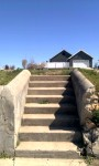 These stairs led to where my grandmother's house once stood in Joplin, Mo.