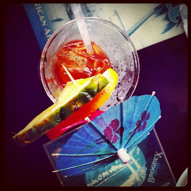Fruity Rum Drink