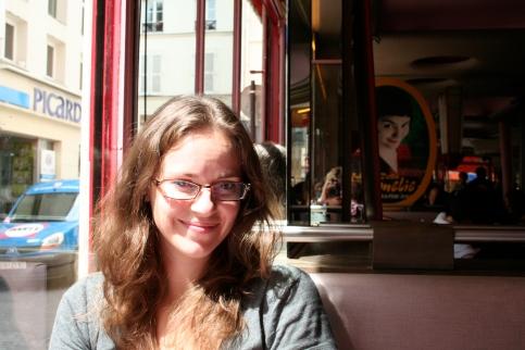 Ditty does Amélie in Paris