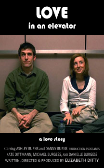 LOVE IN AN ELEVATOR, a short film by Elizabeth Ditty