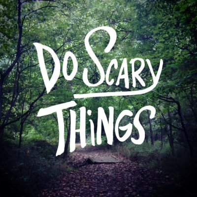 Do Scary Things Art Print by ShireFurnishings on Etsy