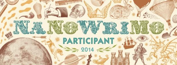 NaNoWriMo 2014 Participant Badge