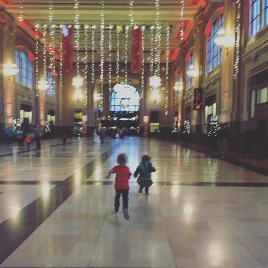 Pippin & Rose at Union Station